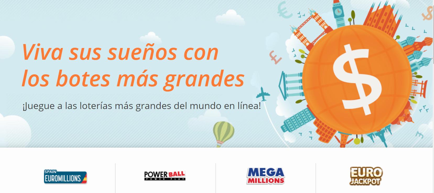 Las mejores loterías del mundo desde España