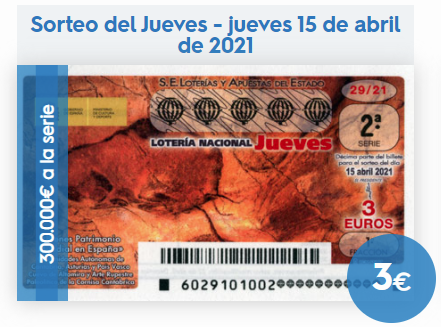Loteria nacional del jueves 15 de abril 2021
