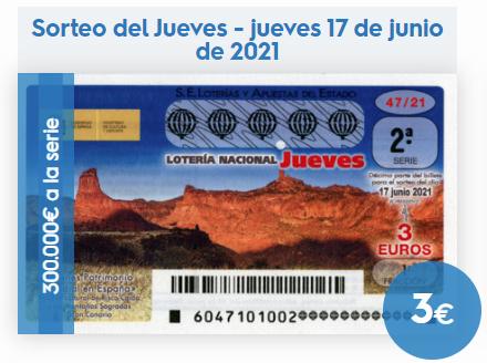Loteria Nacional de España BoteActual History