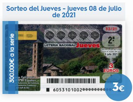 Loteria Nacional BoteActual History